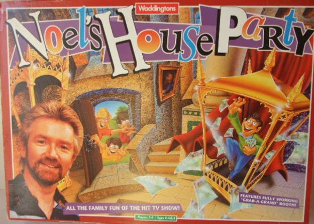A game of the most inexplicably popular programme of the early '90s. You know you watched it, but YOU DON'T KNOW WHY.