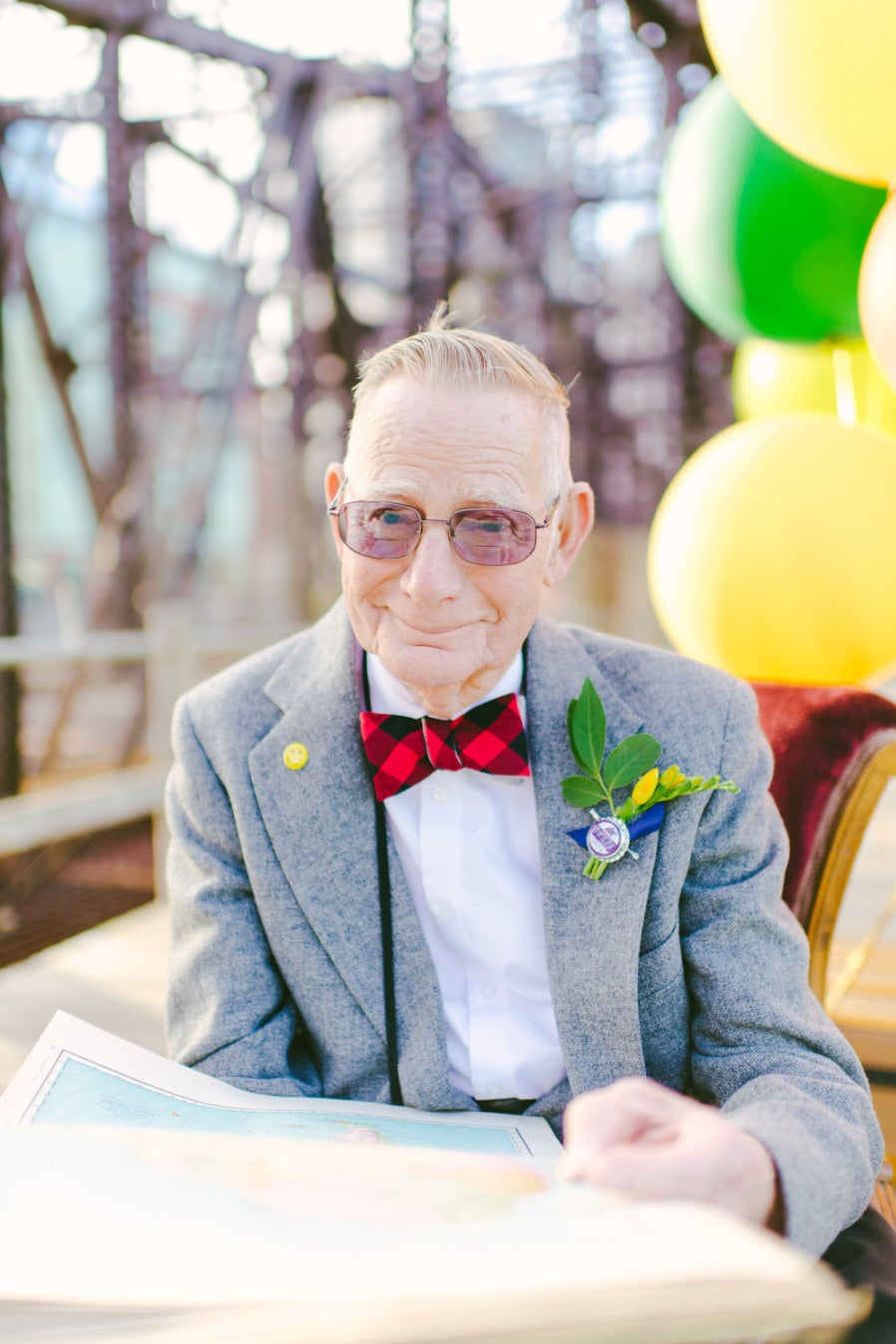 """These """"Up"""" Inspired Photos For A Couple's 61st Anniversary Will Probably Make You Misty-Eyed"""