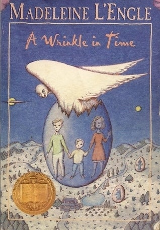 Madeline L'Engle's seminal classic is the story of a young girl and her overly precious baby brother traveling across worlds to rescue their father from a spreading darkness. The book contains beloved literary characters such as Mrs. Whatshit, Mrs. Who, and Miss Which, not to mention AUNT BEAST. Seriously though, A Wrinkle in Time is one of the best fantasy books ever written. Note: Copies of the 2003 made for TV movie starring Gregory Smith (of Everwood fame), should be burned.