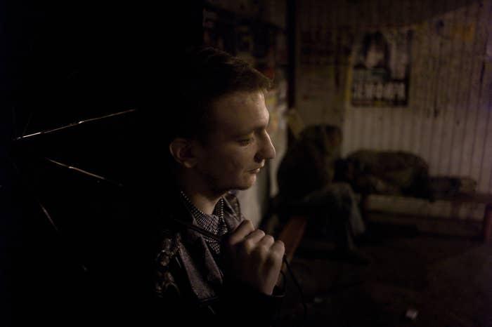 Konstantin Golava is a 22-year-old environmental activist in Tolyatti.