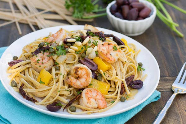 Image result for pasta with seafood