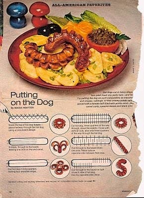 Who knew hot dogs could be so customizable?