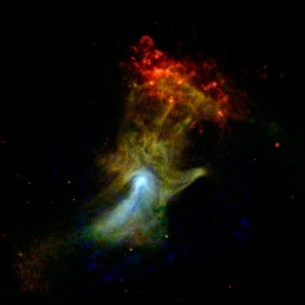 "Spectacular NASA Image Captures ""Hand Of God"""