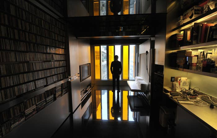 """When architect Gary Chang was faced with Hong Kong's property problem, he said, """"No thanks."""" He turned his 105-square-foot apartment into a """"domestic transformer"""" that can change into 24 different rooms, which would mean 24 different ways for you to conceal your evil plans."""