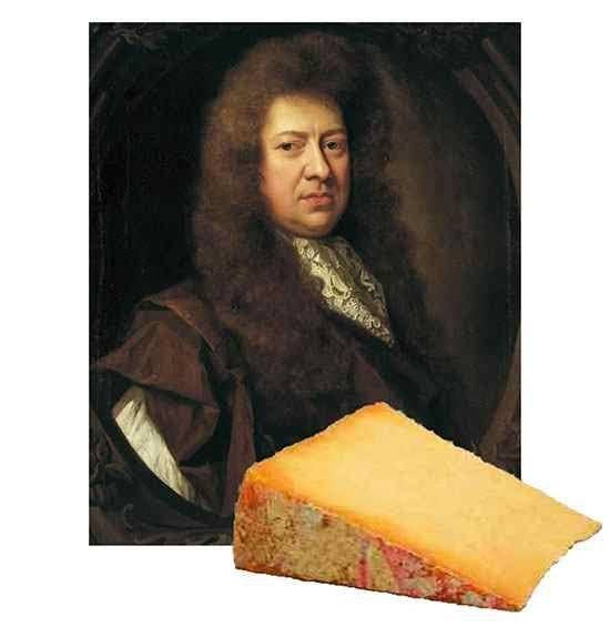 In 1666, English Naval Administrator and Member of Parliament Samuel Pepys was awoken by his servant, alerting him to a fire in the city of London. This was the beginnings of the Great Fire of London. Pepys began to dig holes, and bury his valuables...including wine and cheese. Props to the dog who found it whilst burying his bone!