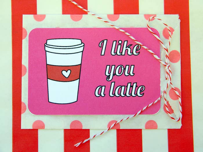 Get the free printable here and attach it to a gift card.