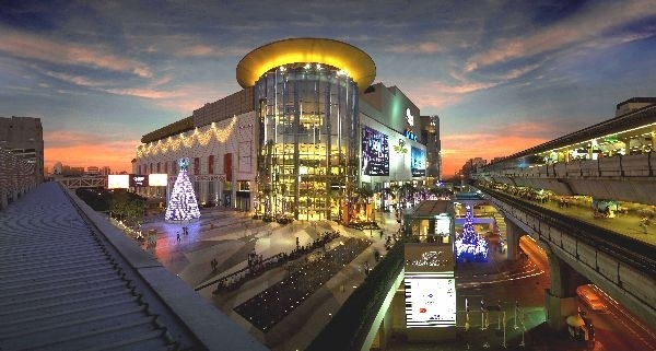 The first is Siam Paragon Mall in Bangkok, Thailand.