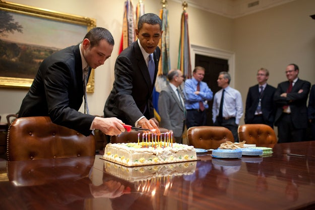 Los cupcakes son para los de un único mandato.