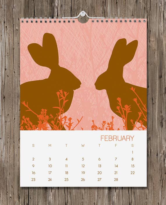 Wall calendar available here.