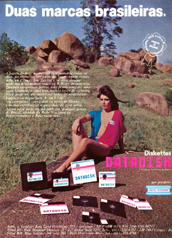 Disquetes Datadisk (1985)