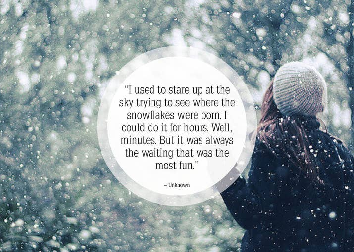 Snowflake Love Quotes Stunning 25 Beautiful About Snow