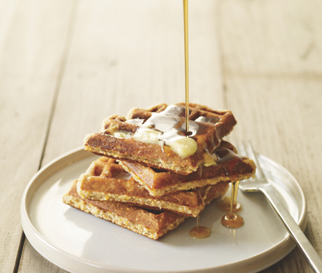 Corn Meal and Oat Waffle Mix