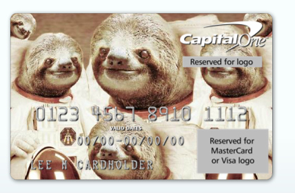 They shouldn't be allowed to design your mutual credit card.
