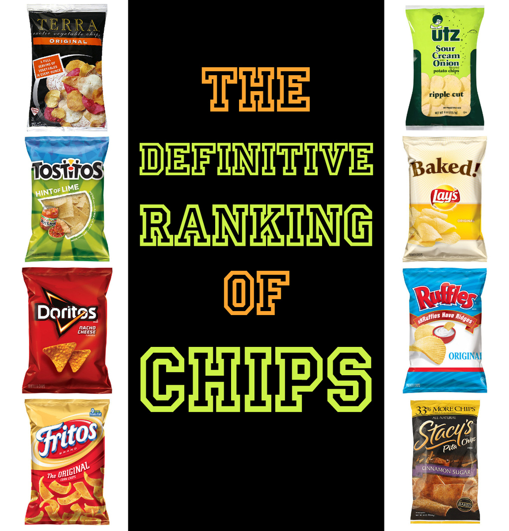 The Definitive Ranking Of Chips