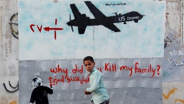 On December 12th, 2013 a wedding convoy, outside the town of Radda in the al-Baydah province of Yemen, was struck by a US drone. Following the attack, Yemeni officials claimed that around '14 innocent civilians were killed, 22 injured and 9 were in critical condition.' According to the US government, the attack had intended to strike a known AQ militant Shawqi Ali Ahmad al Badani. The US government denied the deaths of civilians, claiming that they had killed militants associated with al Badani.