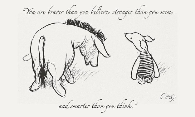 Winnie The Pooh Youre Braver Than You Know Luiertassen Goedkoop