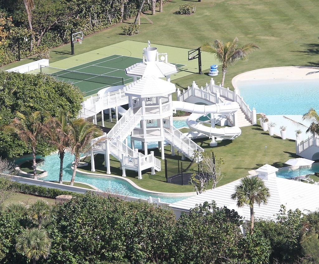 Did You Know Celine Dion Has Her Own Personal $72 Million Water Park Mansion?