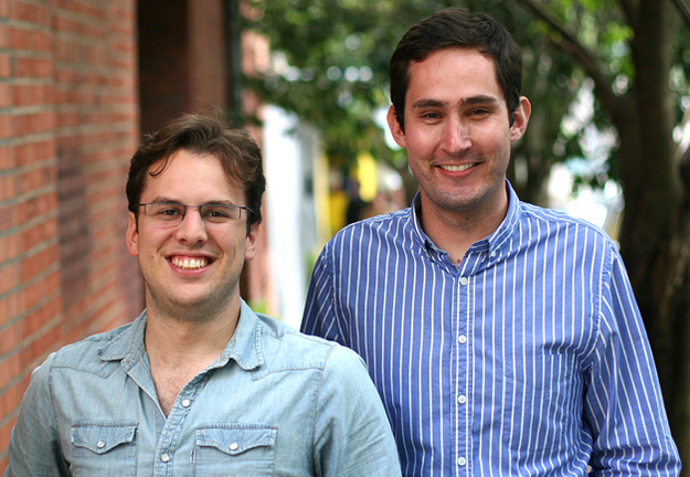 Stanford grads Kevin Systrom and Mike Krieger founded Instagram in 2010.