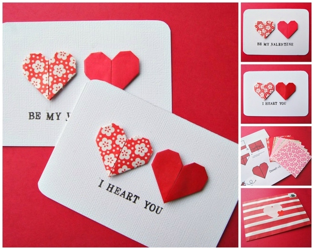 40 Unconventional DIY Valentines Day Cards – Homemade Valentines Card