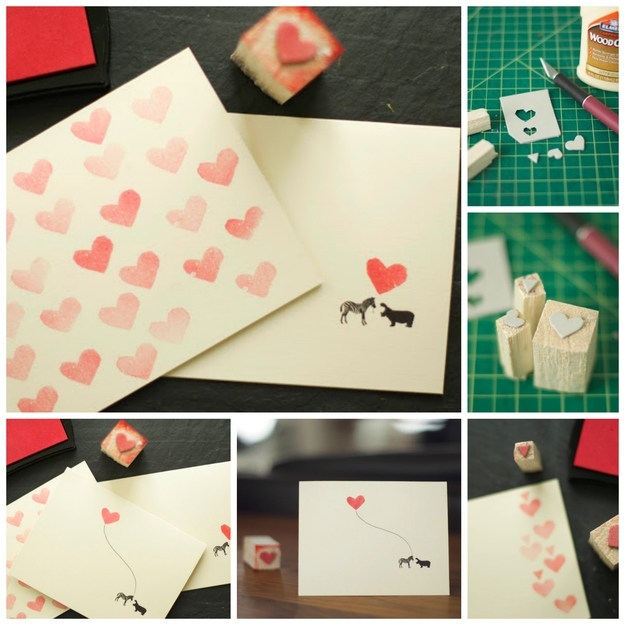 40 Unconventional DIY Valentines Day Cards – Hand Made Valentine Cards