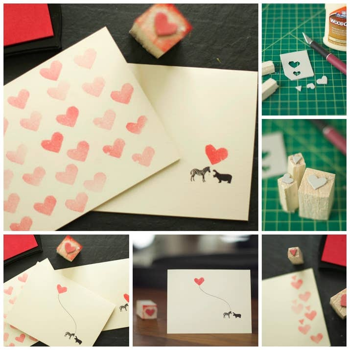 40 Unconventional DIY Valentines Day Cards
