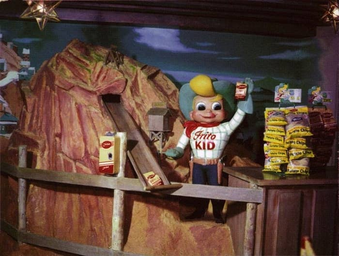 Like all good things American, Doritos can trace their origins to the Happiest Place On Earth. The tasty chips were first sold in the 1950s at Casa De Fritos in Frontierland and were made of fried tortillas that otherwise would have been discarded.