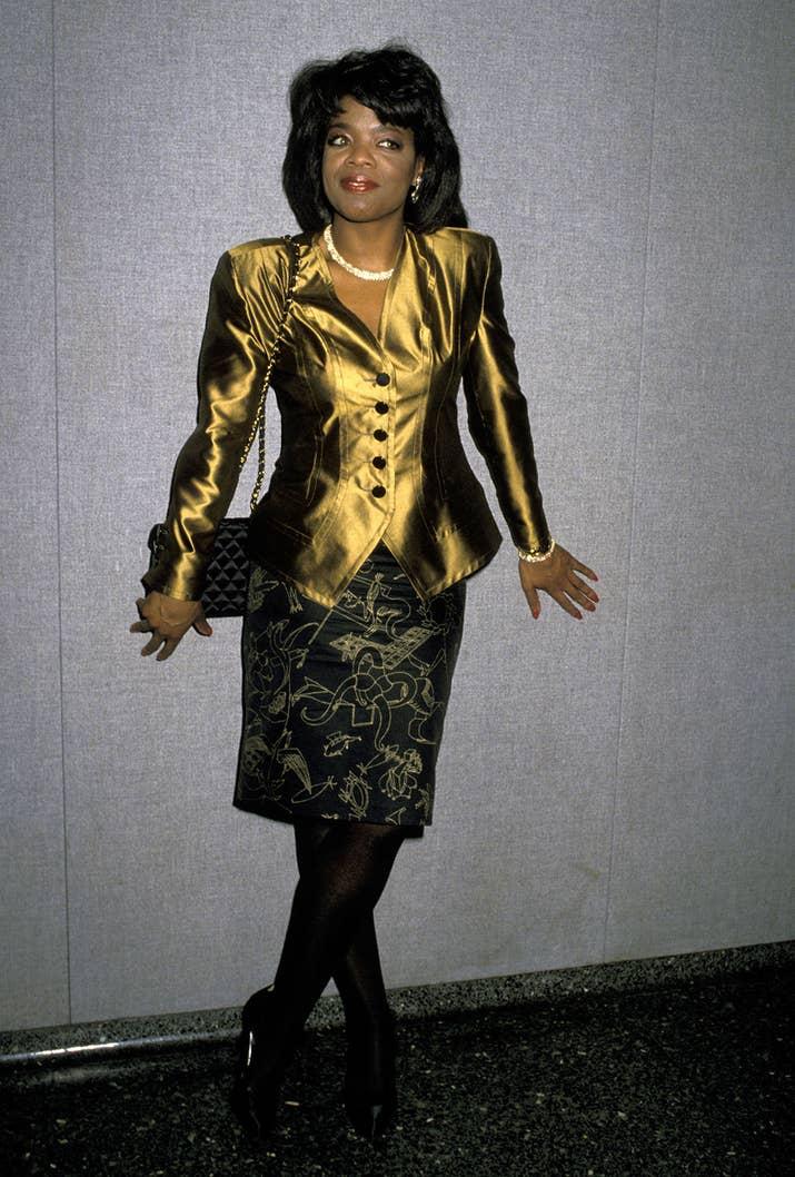 february 17 1989 - Oprah Winfrey Halloween Costume