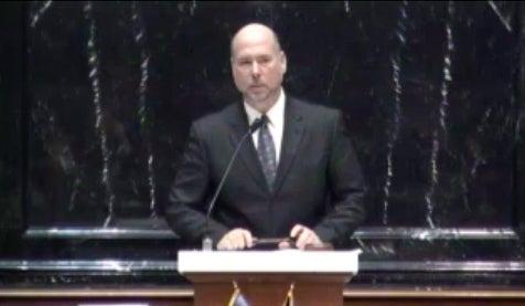 Indiana House Speaker Brian Bosma.
