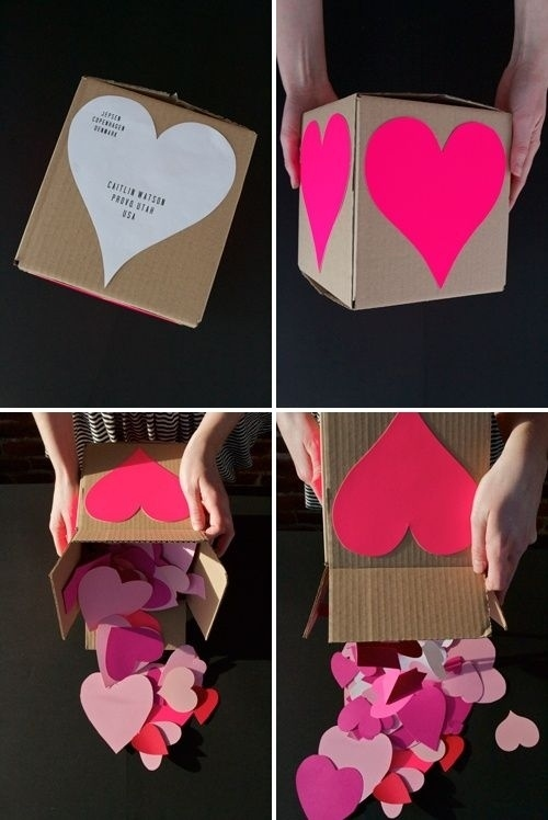 You Can Make And Send This Adorable Surprise For Your Long Distance  Valentine.