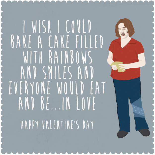 Mean Girls Valentines Day Cards For The Fetchest Losers In Your – Mean Valentines Day Cards