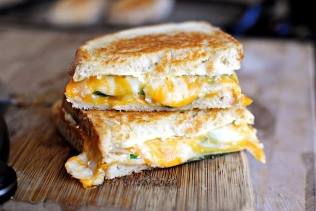 Jalapeño Popper Grilled Cheese -  You can have this sandwich AND still be available for Ryan Gosling.