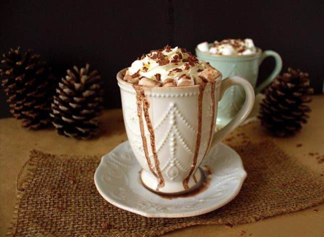 Does that classy cup come with this fancy treat? Here's how to make it at home.