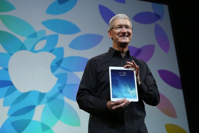 Apple Inc CEO Tim Cook.
