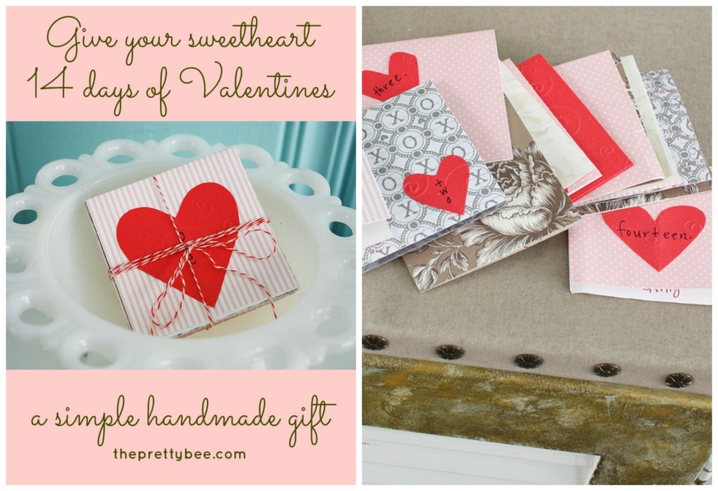 Make A Little Package Of Fourteen Cards To Extend The Celebration For A  Couple Weeks.