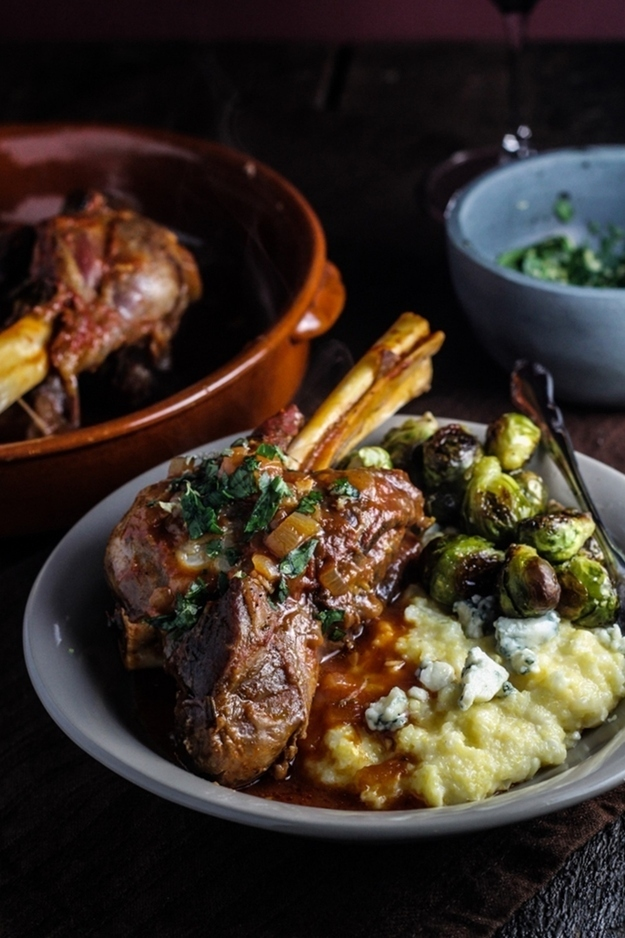 31 Cuddly And Delicious Beds Of Polenta