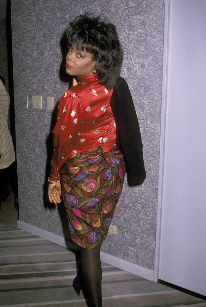 february 25 1989 - Oprah Winfrey Halloween Costume