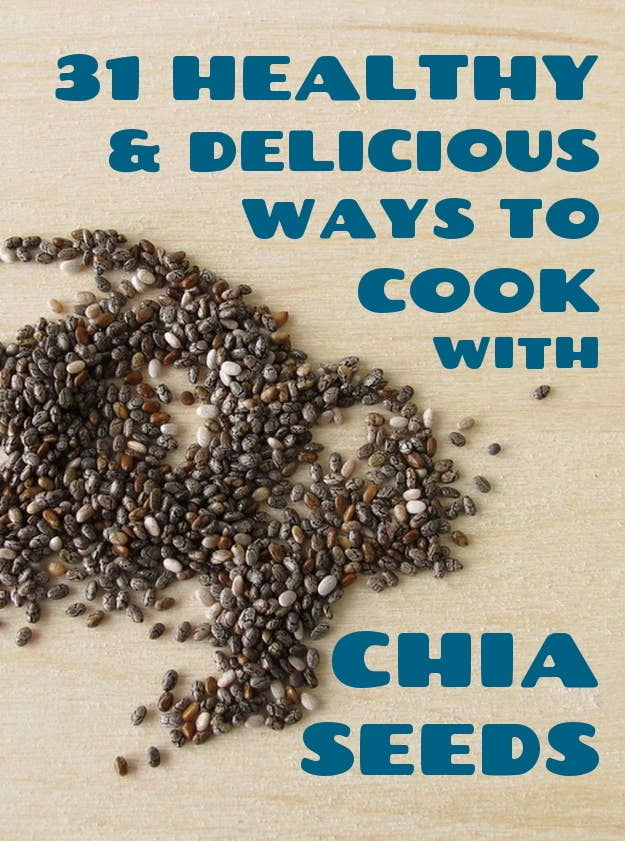 31 healthy and delicious ways to cook with chia seeds share on facebook share forumfinder Images