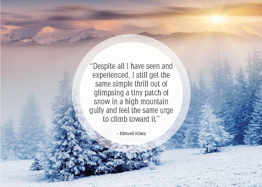 25 Beautiful Quotes About Snow Great Pictures