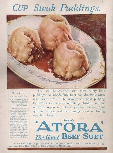 21 truly upsetting vintage recipes 8 atora steak puddings forumfinder Choice Image
