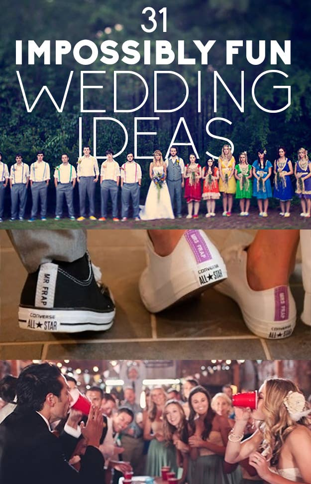 31 impossibly fun wedding ideas share on facebook share junglespirit Choice Image