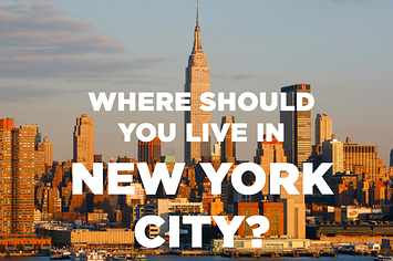 where should you actually live in new york city. Black Bedroom Furniture Sets. Home Design Ideas