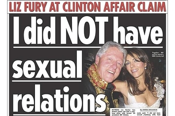 Clintin sex scandel