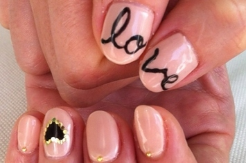 26 ridiculously sweet valentines day nail art designs - Valentines Nail