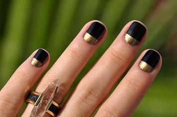 25 eye catching minimalist nail art designs prinsesfo Gallery