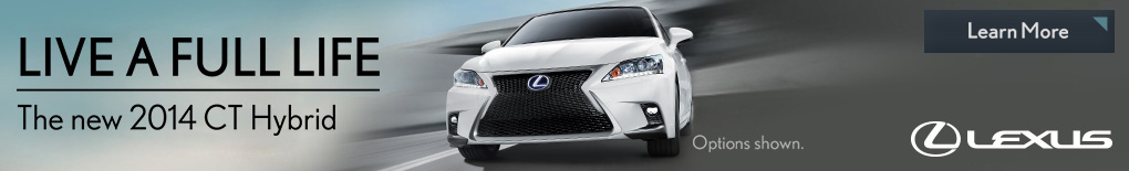 Lexus CT Live A Full Life