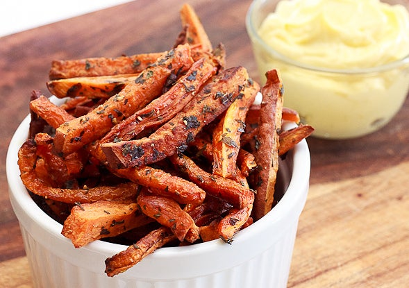 Fries are paleo. FRIES ARE PALEO. Recipe here.