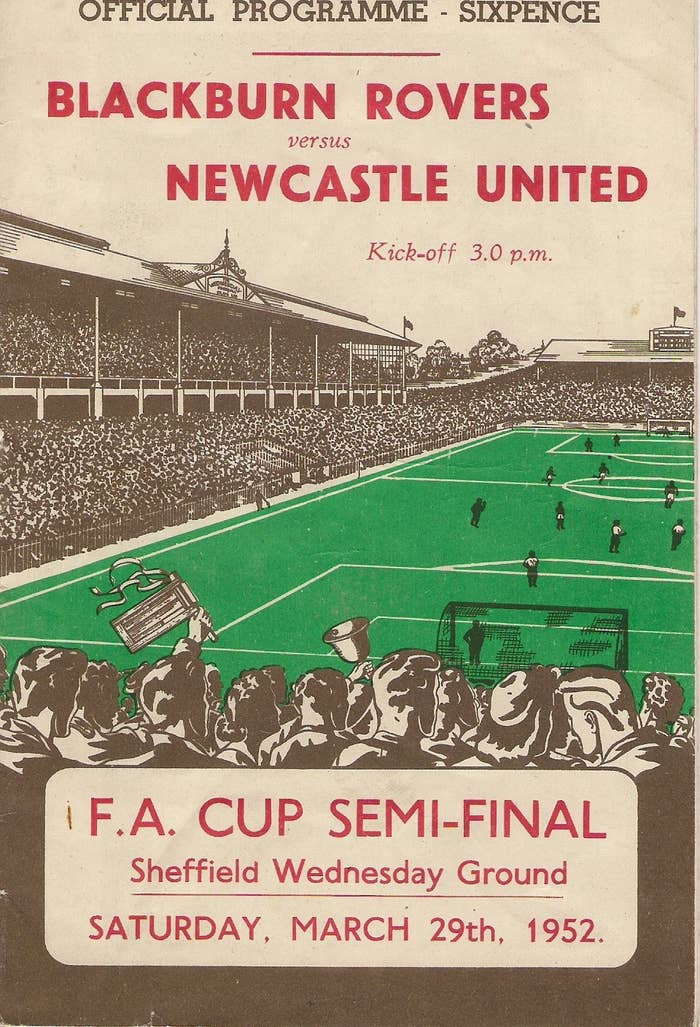 1) The FA cup is officially the world's oldest football competition at 143 years old.2) It was created as an idea by C.W. Alcock at The Sportsman Newspaper in 1871.3) The FA Cup is organised by the Football Association which is now 151 years old, making it one of the longest standing football organisations today.4) The first FA Cup final was played at the Kennington Oval.5) The first Cup goal was scored for Clapham Rovers by Jarvis Kenrick against Upton Park.6) Winners of the FA Cup are awarded the opportunity to participate in the Europa League.7) In total 42 teams have won the FA Cup.8) In 1963 the 'Big Freeze' meant it took the third round of the competition 66 days to be completed due to games being postponed for the extreme weather conditions.9) Replays used to happen a lot more often than seen today; in 1890 Bury drew 0-0 at Stockton, yet at the replay three days later they won 12-1.official fa cup final programme 1952 blackburn vs newcastle10) On average about 381 matches are played per FA Cup year.11) The first final went to replay at Wembley in 1970 between Chelsea and Leeds Utd.12) The BBC broadcasted the FA Cup final for the first time in 1927.13) But the first live broadcast of the games occurred in 1938.14) The longest Cup tie was seen in 1971 when Oxford City and Alvechurch replayed to a total of 6 games and 660 minutes of football to gain a place in the first round proper.15) The only time a game has ever been played on Christmas Day in the FA Cup was Linfield Athletic v. Cliftonville in 1888.16) The Khaki Cup Final took place in 1915 as the last final before the First World War cancelled the competition, the name came from the amount of uniformed soldiers who attended to see Sheffield United beat Chelsea.17) The White Horse Final was seen in 1932 when a crowd rushed the gates and a policeman on his White horse had to herd crowds back into the spectator areas.18) The first side to attach their ribbons to the trophy as seen today were Tottenham Hotspur