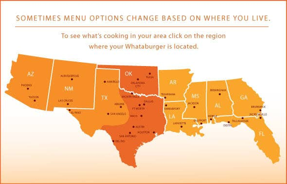 735 stores in ten states throughout the south and southwest