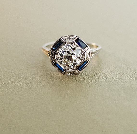 Charmant From The 1920s. Scarily, This 2 Carat Ring Costs $35,000.