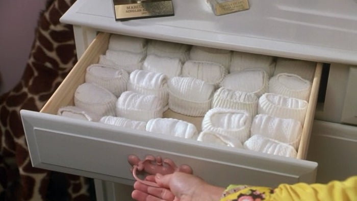 Or was I the only one who didn't organize my sock drawer like this?